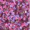Tiny Flats 5X3.5mm Mix Pink/Violet
